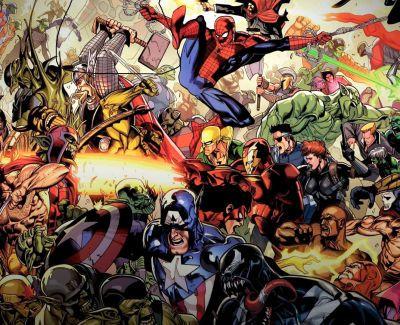 Коли з'явилися Капітан Америка, Росомаха та Халк. Інтерактивна подорож світом Marvel