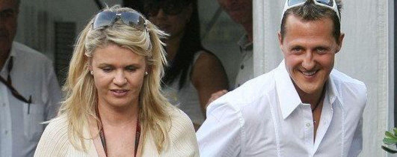 Жена Шумахера впервые прокомментировала ужасную травму мужа