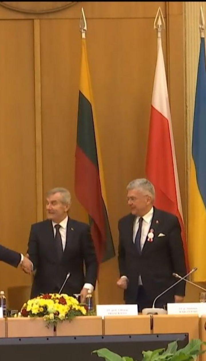 Міжпарламентська асамблея Литви, Польщі та України створила новий комітет з питань безпеки