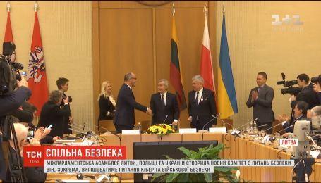 Межпарламентская ассамблея Литвы, Польши и Украины создала новый комитет по безопасности