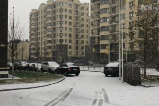 В Киеве и области начался обещанный синоптиками снегопад