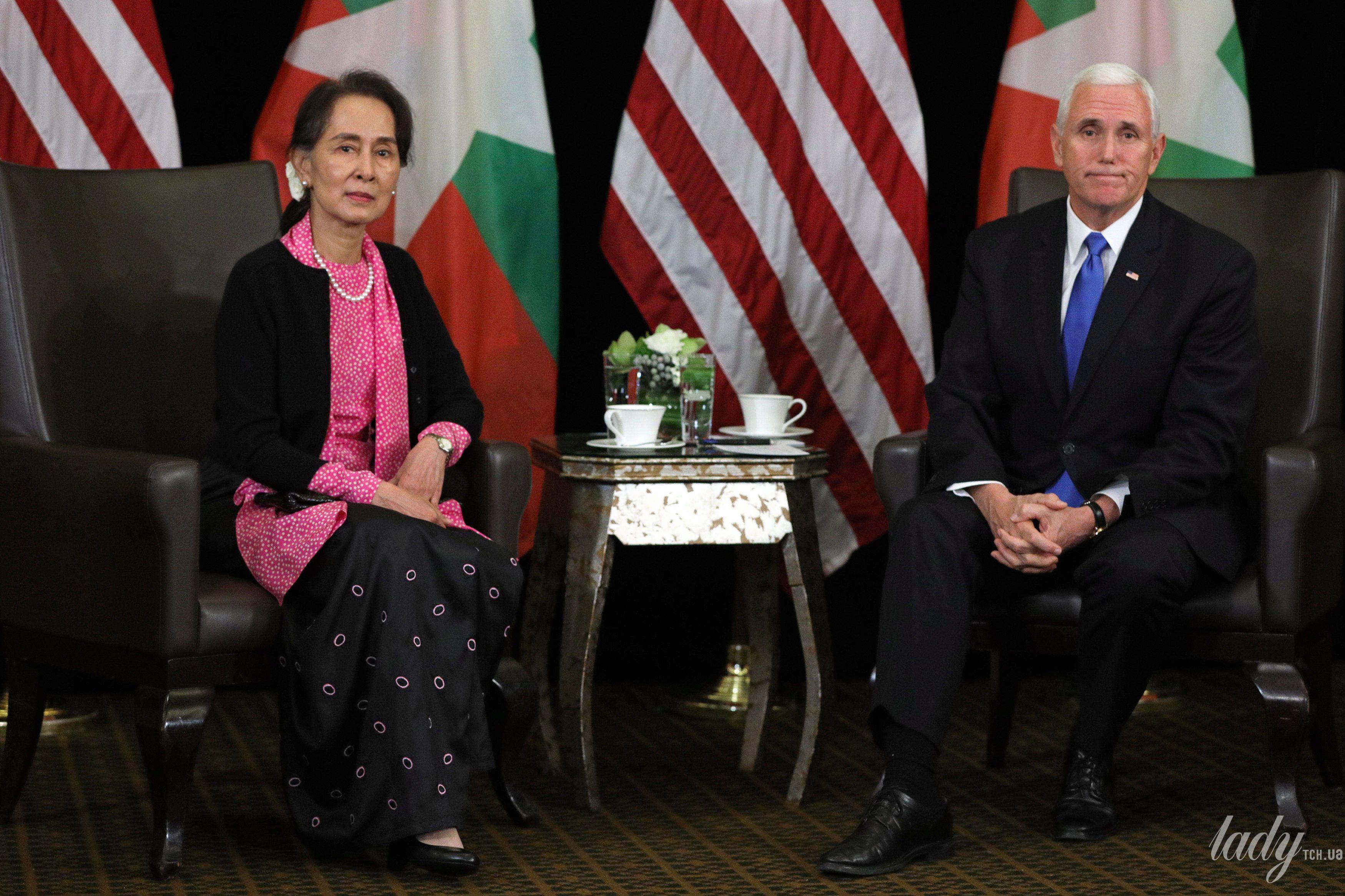 Государственный советник Мьянмы Аунг Сан Су Чжи_3