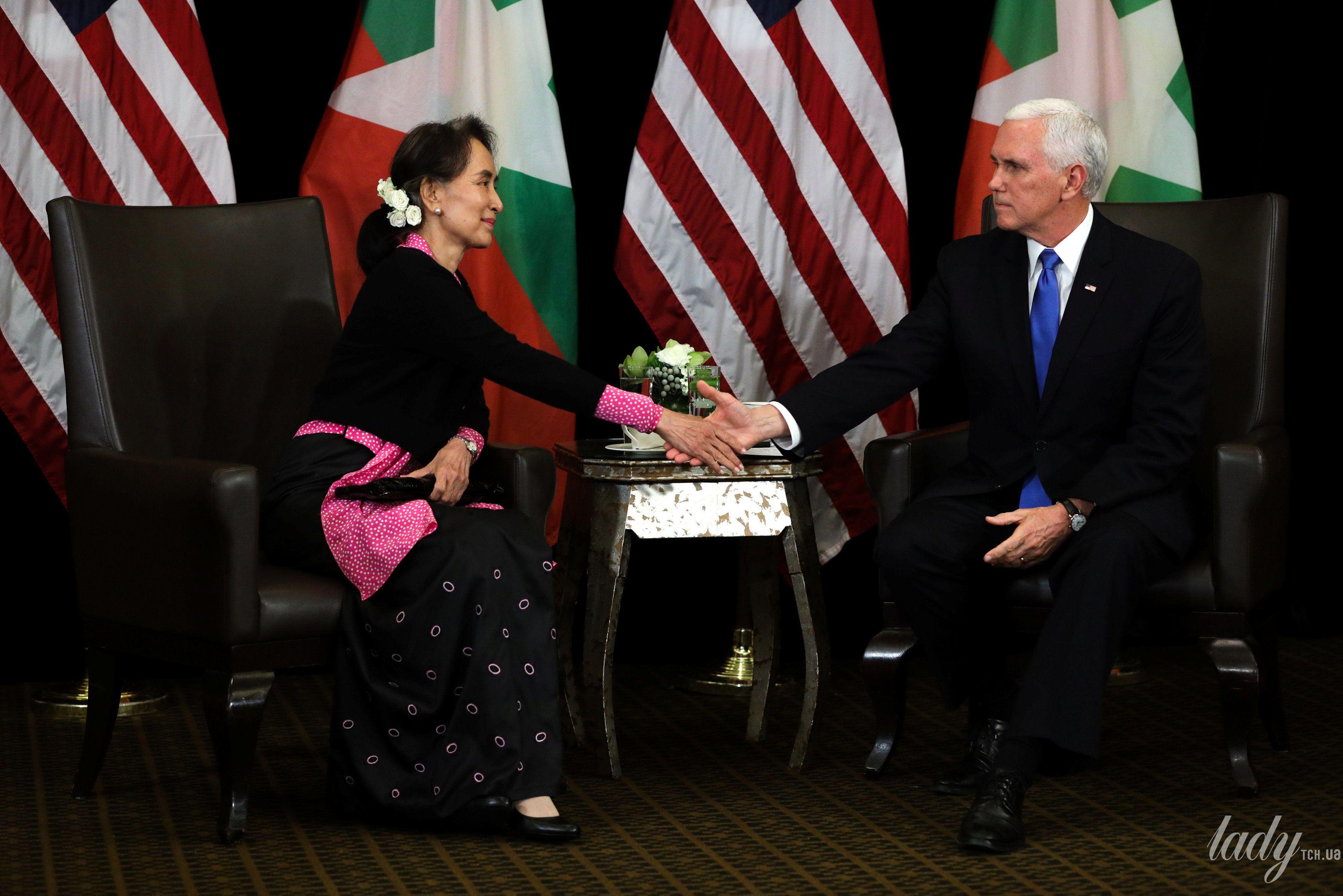 Государственный советник Мьянмы Аунг Сан Су Чжи_1