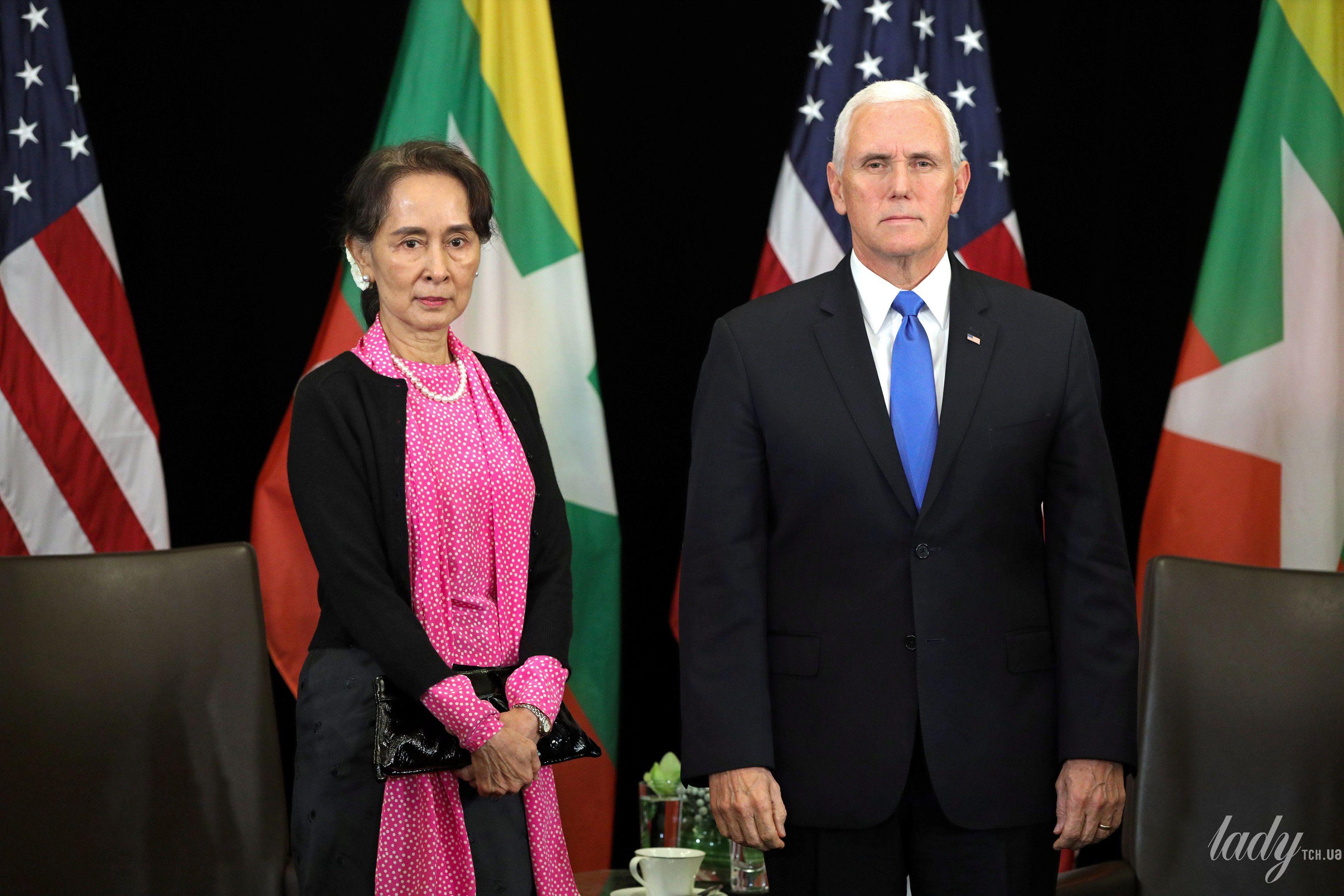 Государственный советник Мьянмы Аунг Сан Су Чжи_4