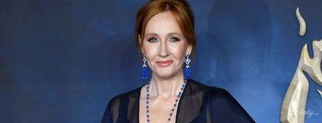 """Это очень смело: 53-летняя """"мама"""" Гарри Поттера Джоан Роулинг надела платье с глубоким декольте"""