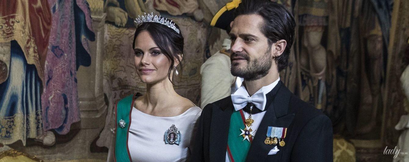 В кутюрном наряде и свадебной тиаре: роскошный выход шведской принцессы Софии