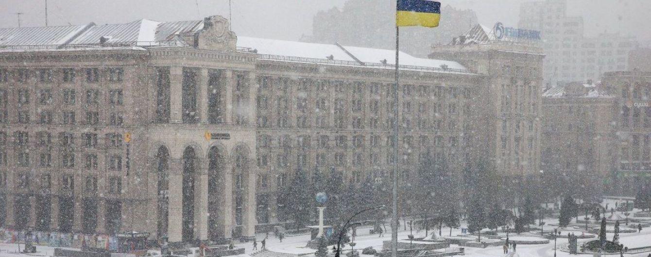 На Київ суне негода: столичних автомобілістів закликали користуватися громадським транспортом