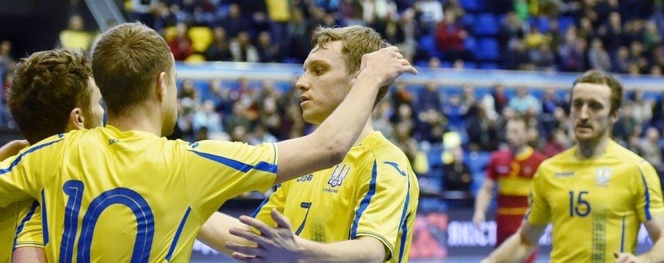 Сборная Украины по футзалу за две минуты вырвала невероятную ничью против чемпионов Европы
