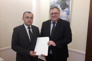 До України прибув новий посол Угорщини