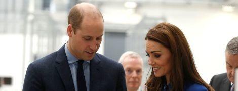 Успеть все: в юбилей принца Чарльза Кейт и Уильям посетили открытие технологического центра