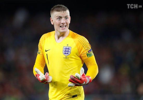 Воротар збірної Англії забив фантастичний гол із кутового на тренуванні