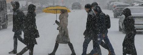 У частині регіонів сніжитиме, а в більшості на дорогах - ожеледиця. Прогноз погоди на 21 листопада
