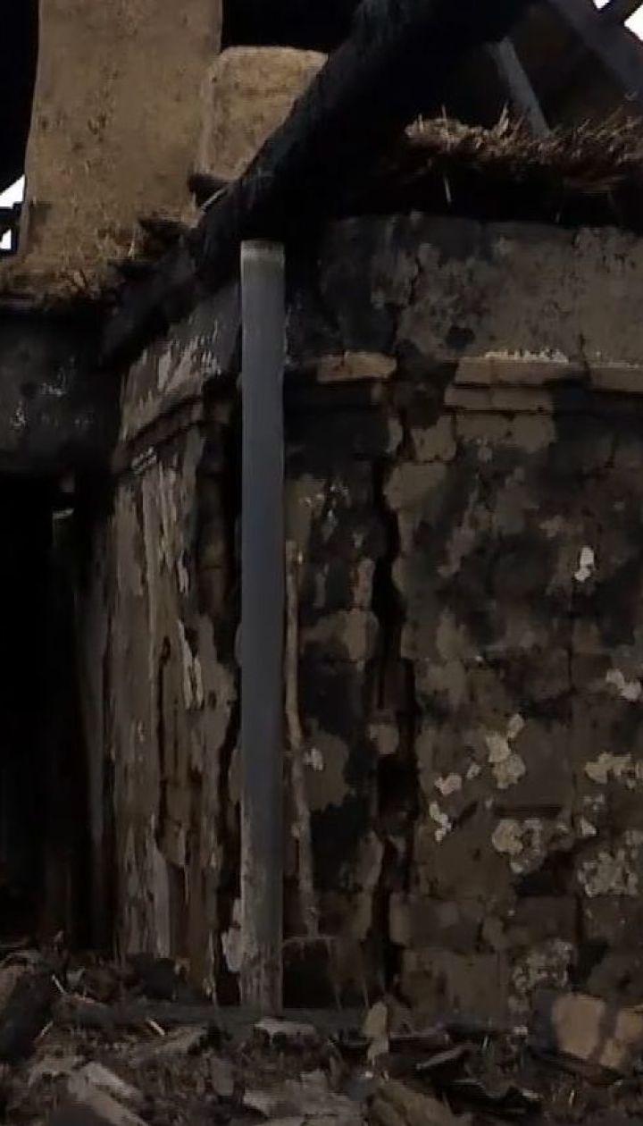 Трое детей погибли при пожаре в частном доме в Запорожской области
