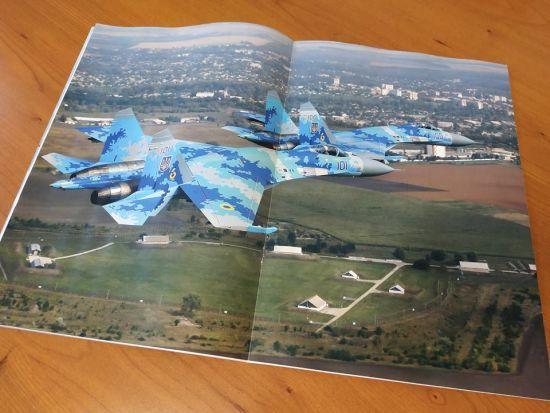 Французький журнал присвятив вісім розворотів українським ВПС
