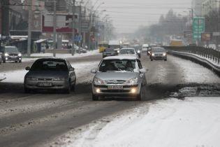 Транспортный коллапс в Житомире. Почти все пригородные автобусные рейсы отменили из-за гололеда