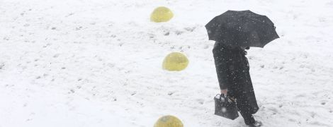 Україну посипатиме снігом, а на дорогах буде слизько. Прогноз погоди