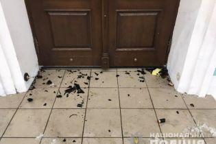 """Неизвестные забросали Андреевскую церковь """"коктейлями Молотова"""""""