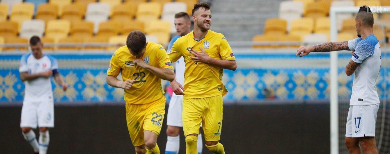 Словаччина - Україна - 4:1. Онлайн-трансляція матчу Ліги націй