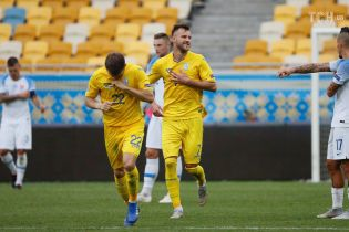 Словакия - Украина - 4:1. Онлайн-трансляция матча Лиги наций