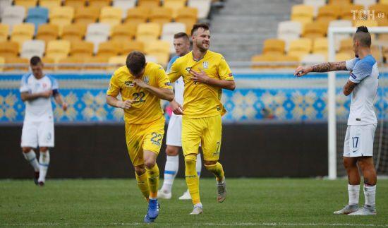 Словаччина - Україна. Онлайн-трансляція матчу Ліги націй