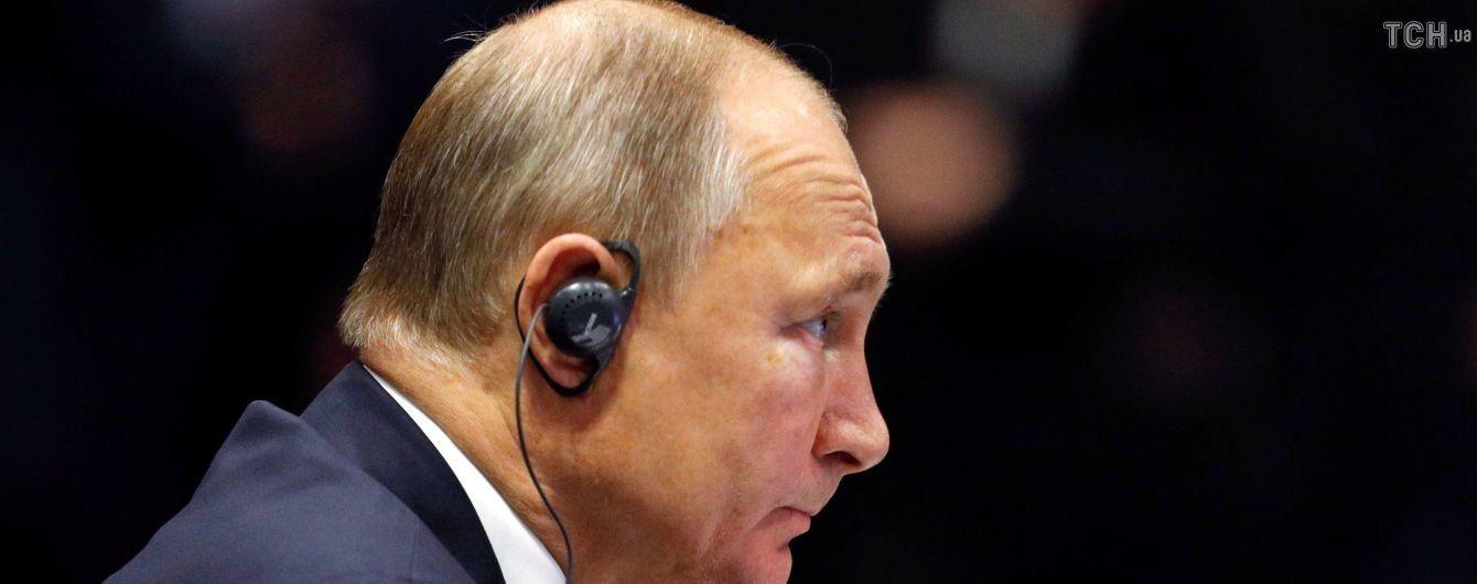 Нинішня українська влада нездатна вирішити проблему Донбасу – Путін