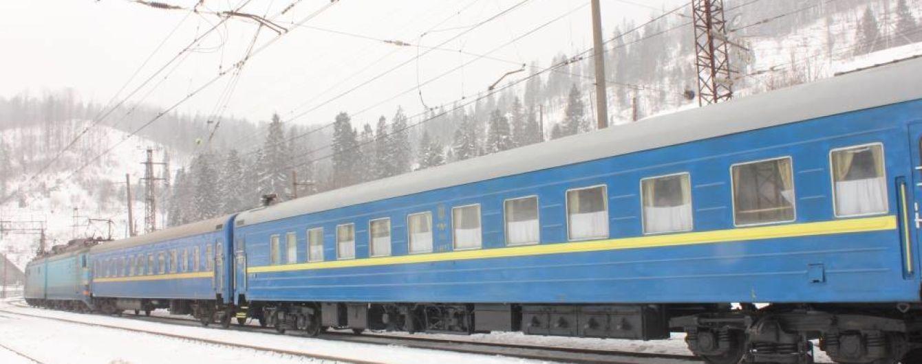 На Киевщине останавливалось движение по железной дороге в столицу из-за обрыва электропроводов поваленным деревом
