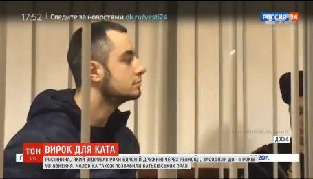 Росіянина, який відрубав руки власній дружині, засудили до 14 років ув'язнення
