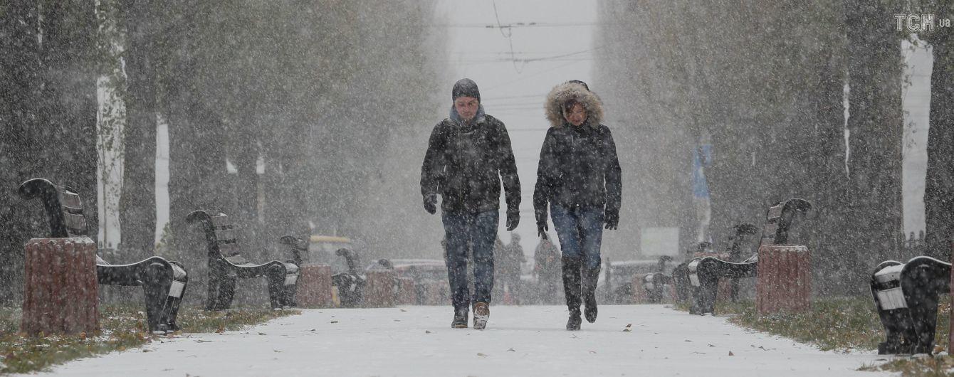 Зима продолжает наступать. Синоптики обещают снег, морозы и ветры
