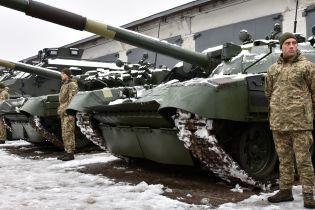 """""""Укроборонпром"""" показал десятки единиц новой техники и оружия, которые получило украинское войско"""