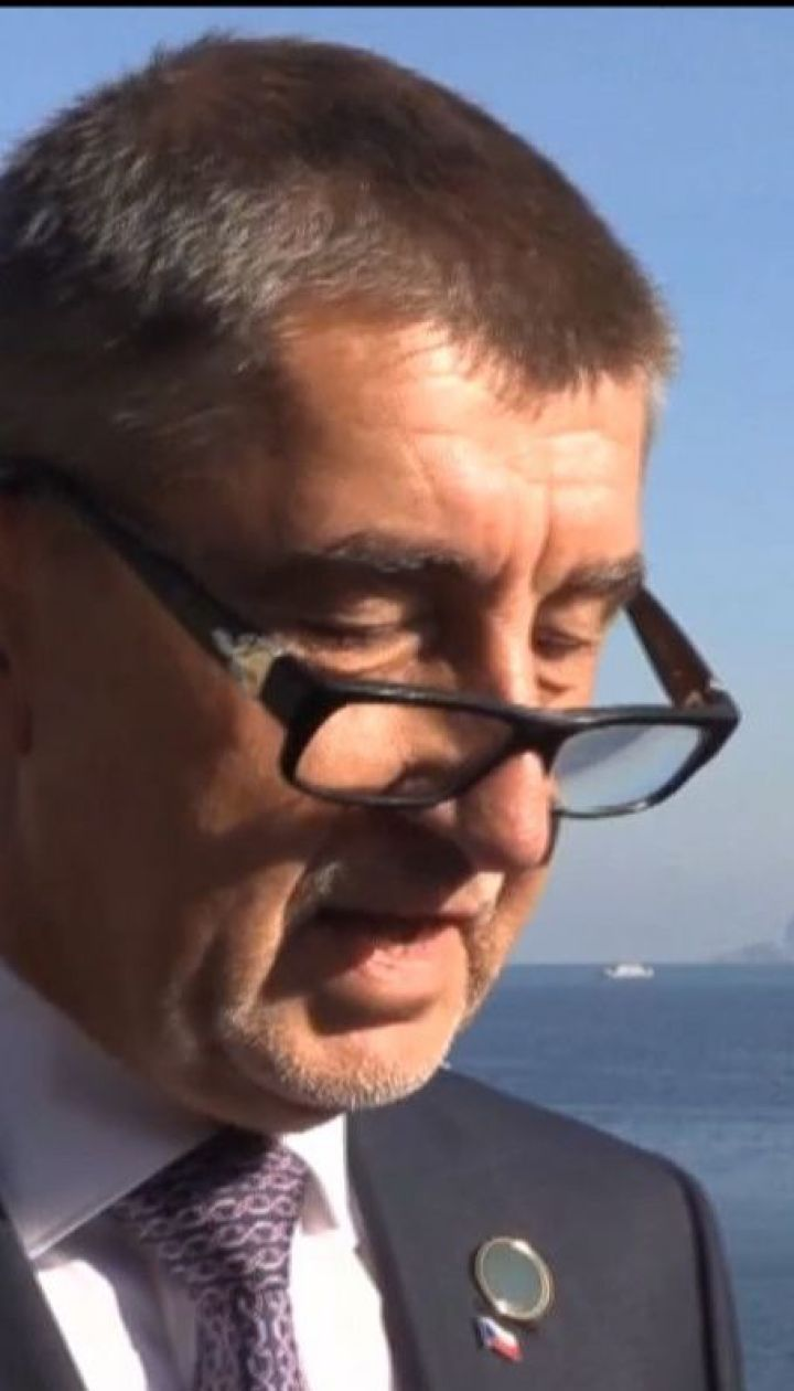 Жителі Праги вимагають відставки прем'єр-міністра Андрея Бабіша