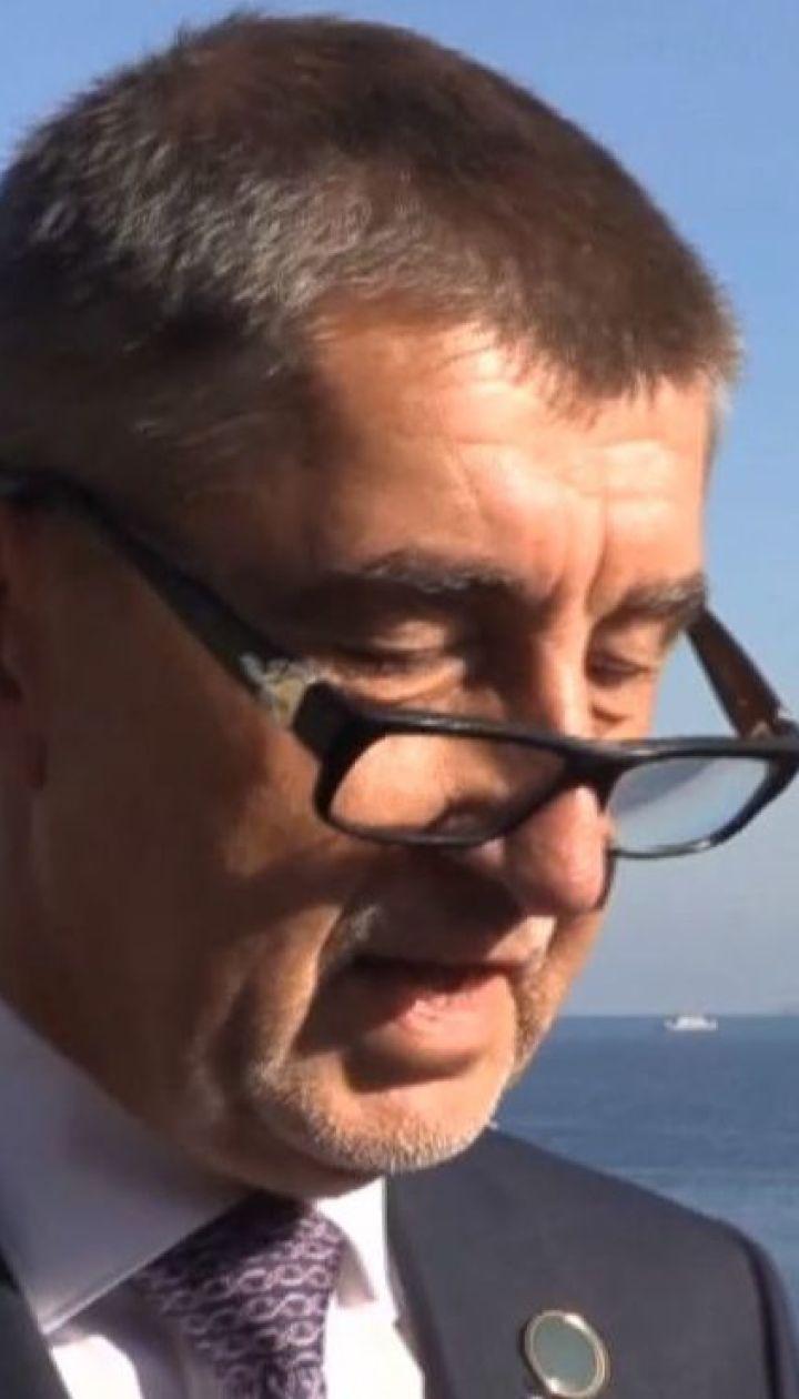 Жители Праги требуют отставки премьер-министра Андрея Бабиша