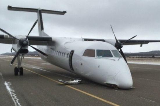 Пілот у Канаді зумів посадити літак без переднього шасі