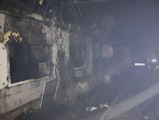 На Миколаївщині в пожежі загинули чоловік і його донька з інвалідністю