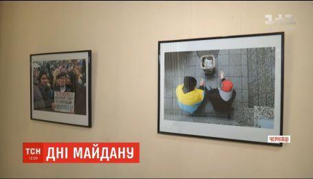 Фотокореспондент відкрив виставку зі світлинами Революції Гідності