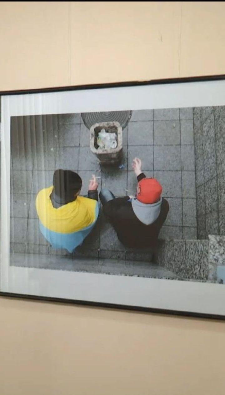 Фотокорреспондент открыл выставку с фотографиями Революции Достоинства