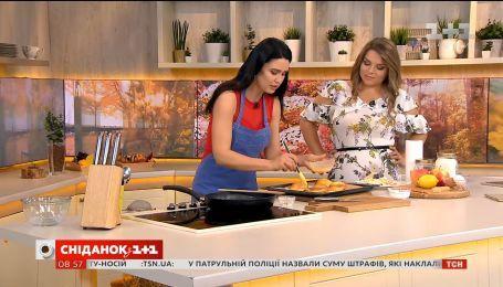 Яблоки с карамелью на слоеном тесте от Людмилы Барбир