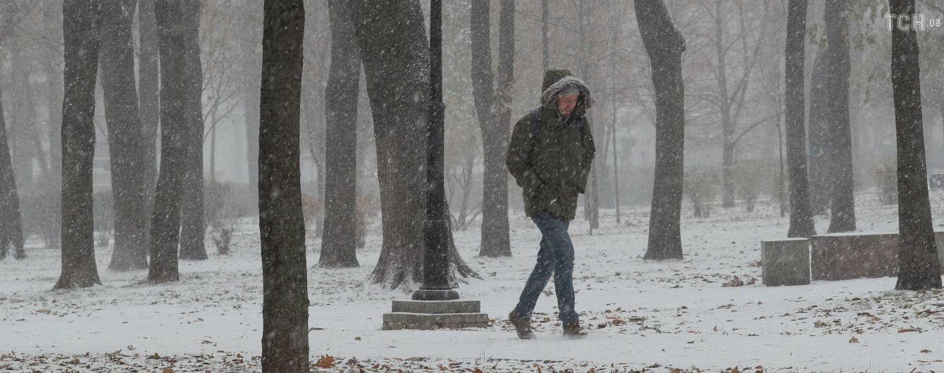Сніг на Заході й Сході, але в центрі – без опадів: прогноз погоди на 7 грудня