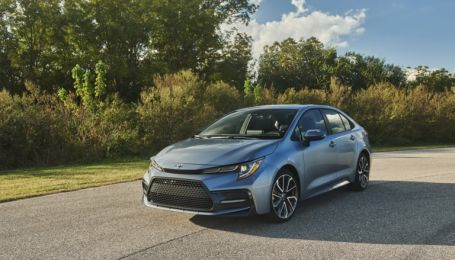 Появилась заряженная Toyota Corolla нового поколения