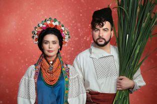 """""""Щирі"""" Сеничкин и Барбир в роскошных национальных костюмах присоединились к благотворительному проекту"""