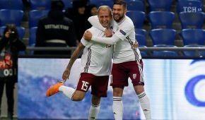 Переводчик довел до истерики латвийского футболиста перед матчем Лиги наций
