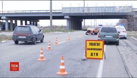 Под Днепром ВАЗ на летней резине устроил ДТП