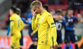 Сборная Украины потерпела первое поражение в 2018 году