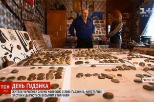 У Чернігові колекціонер зібрав кілька тисяч ґудзиків з усіх історичних епох