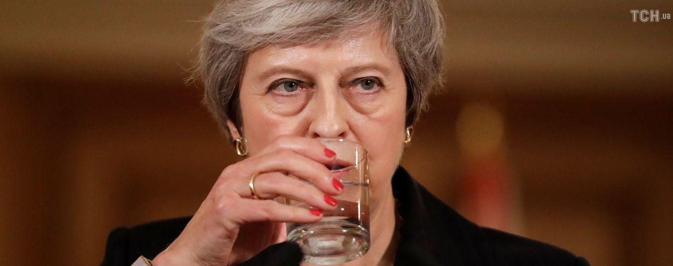 Мей розповіла, який алкогольний напій допоміг їй впоратися з важкими обговореннями угоди про Brexit