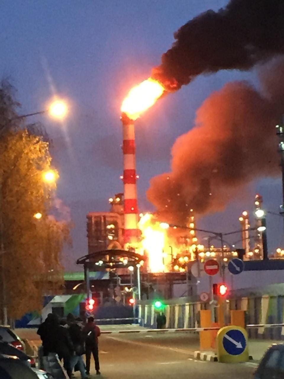 пожежа, Москва
