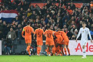 Лига наций. Нидерланды уверенно разобрались с Францией