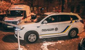 В Києві поблизу Золотих воріт прогримів вибув
