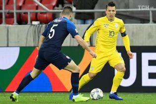 Коноплянка и Марлос вошли в тройку лучших дриблеров второго дивизиона Лиги наций