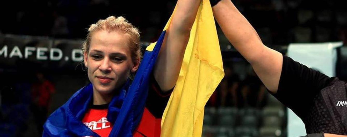 """Україна вперше в історії зуміла виграти """"золото"""" на чемпіонаті світу зі змішаних єдиноборств"""