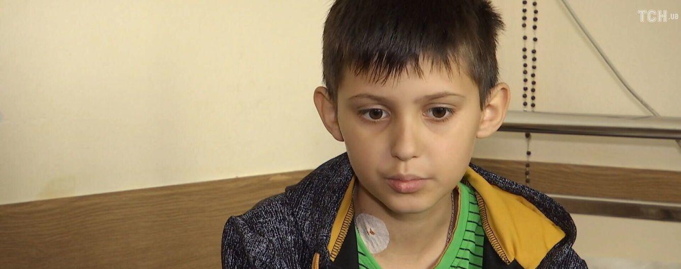 Зрители ТСН в рекордные сроки собрали для 11-летнего Дениса Маголы 5 млн гривен